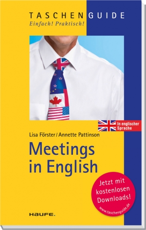 Cover zur kostenlosen eBook-Leseprobe von »Meetings in English«
