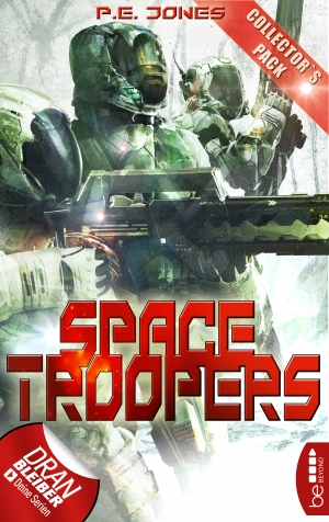 Cover zur kostenlosen eBook-Leseprobe von »Space Troopers - Collector's Pack«