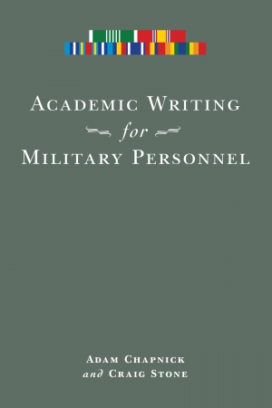 Cover zur kostenlosen eBook-Leseprobe von »Academic Writing for Military Personnel«