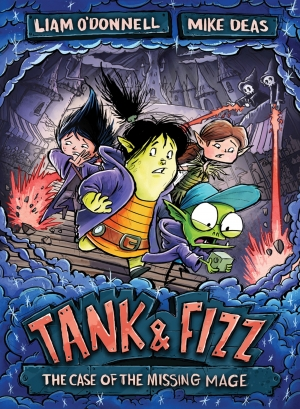 Cover zur kostenlosen eBook-Leseprobe von »Tank & Fizz: The Case of the Missing Mage«