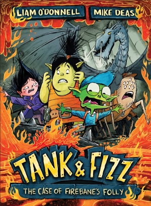 Cover zur kostenlosen eBook-Leseprobe von »Tank & Fizz: The Case of Firebane's Folly«