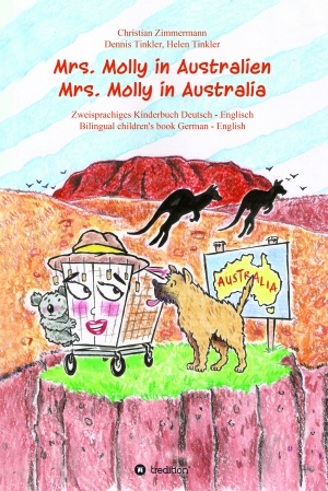 Cover zur kostenlosen eBook-Leseprobe von »Mrs. Molly in Australien/ Mrs. Molly in Australia«