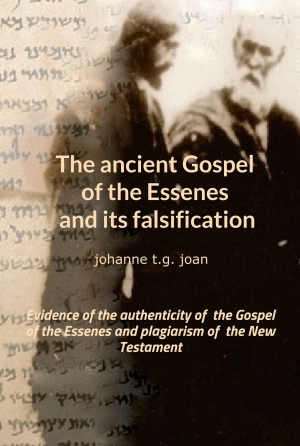 Cover zur kostenlosen eBook-Leseprobe von »The ancient Gospel of the Essenes and its falsification«