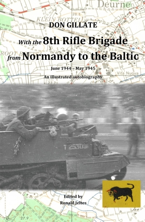 Cover zur kostenlosen eBook-Leseprobe von »With the 8th Rifle Brigade from Normandy to the Baltic«