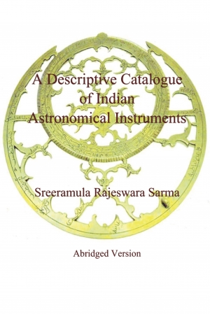 Cover zur kostenlosen eBook-Leseprobe von »A Descriptive Catalogue of Indian Astronomical Instruments«