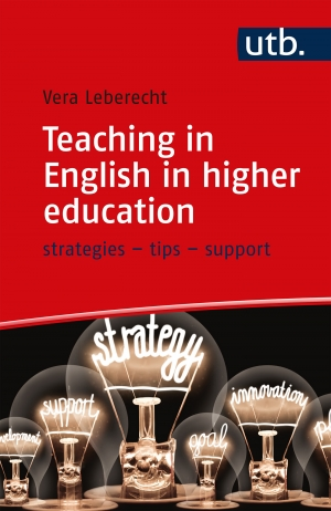 Cover zur kostenlosen eBook-Leseprobe von »Teaching in English in higher education«