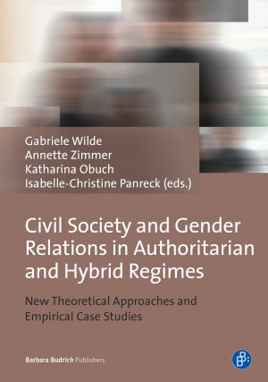 Cover zur kostenlosen eBook-Leseprobe von »Civil Society and Gender Relations in Authoritarian and Hybrid Regimes«