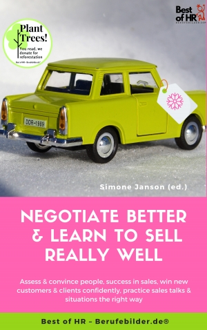 Cover zur kostenlosen eBook-Leseprobe von »Negotiate Better & Learn to Sell really well«